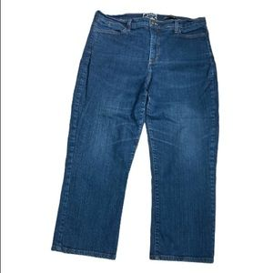Not your daughters jeans straight leg crop-16W